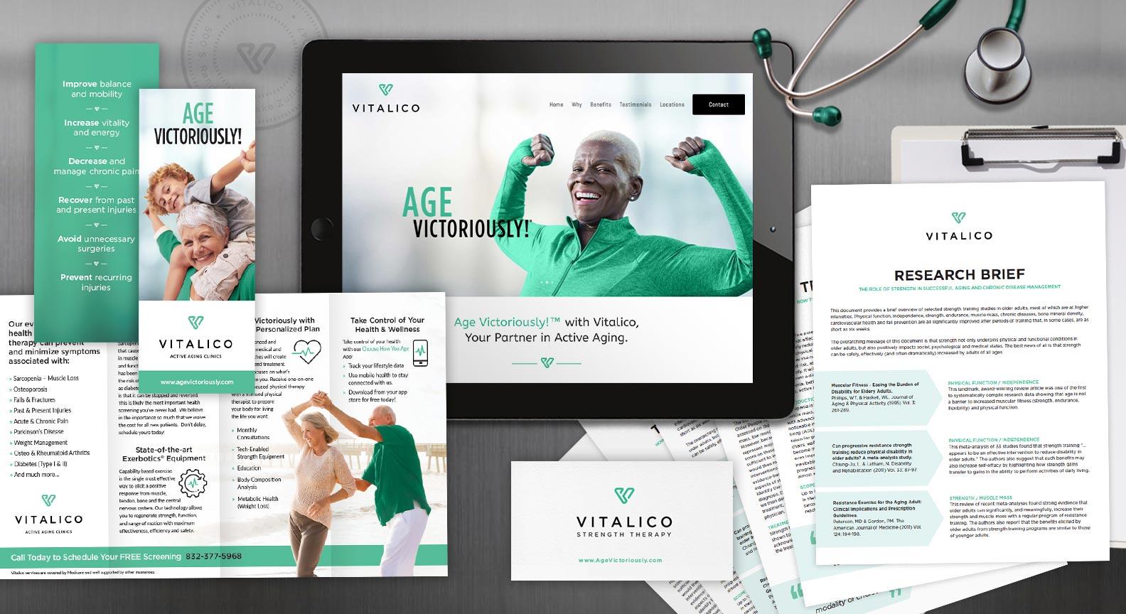 Red Van Creative Branding Website Design Print Collateral in Houston Texas