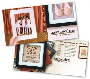 Red Van Creative Direct Mail design in Houston and the Woodlands, TX