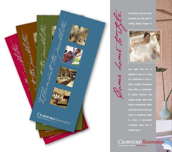 Red Van Creative Brochure design in Houston and the Woodlands, TX